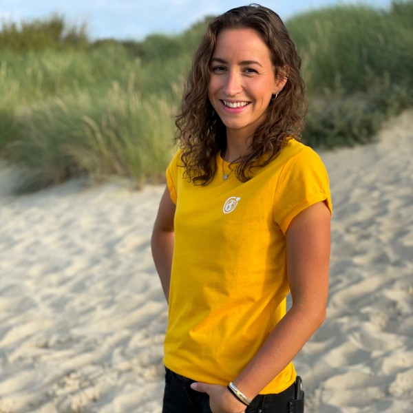 T-Shirt Kleine Murmel - gelb