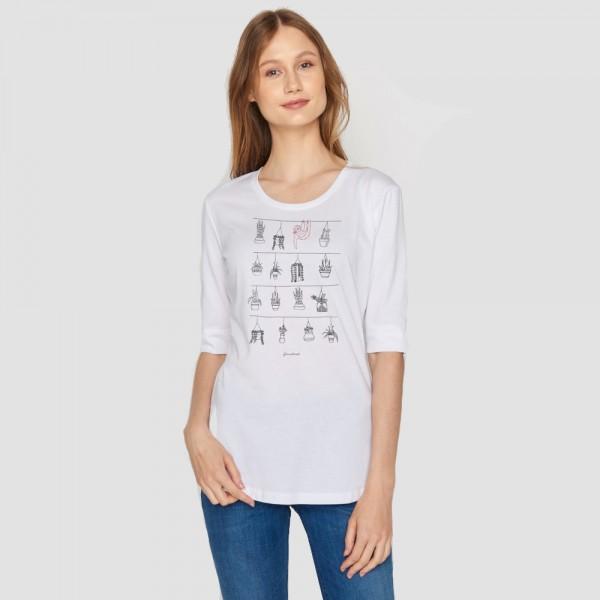 """Greenbomb Shirt """"Animal Sloth Plants"""""""