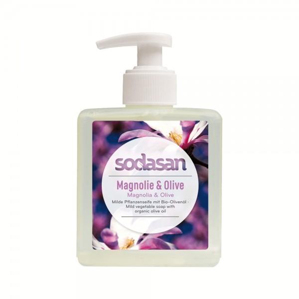 Flüssigseife Magnolie & Olive Sodasan