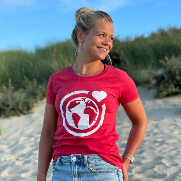T-Shirt Große Murmel - rot