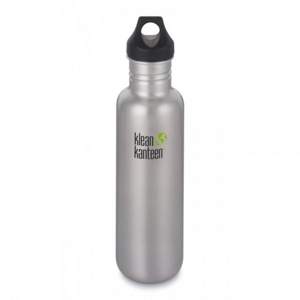Trinkflasche Klean Kanteen Classic 800 ml mit Loop Cap