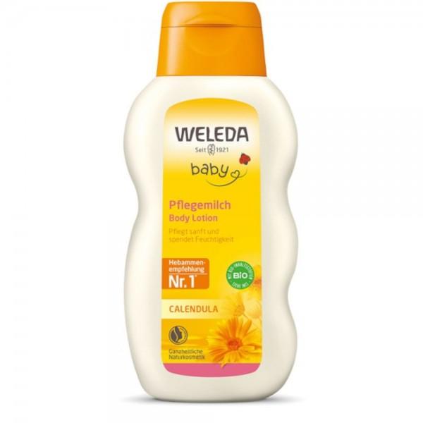 Calendula Pflegemilch Baby Weleda