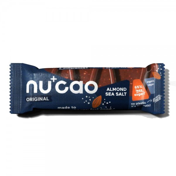 nucao - Almond Seasalt Schokoriegel vegan