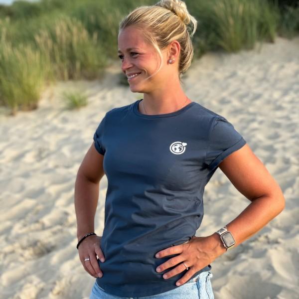 T-Shirt Kleine Murmel - denim