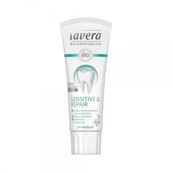 Zahncreme Sensitive & Repair Lavera