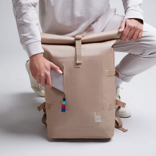 Rolltop Backpack - Got Bag - Sand