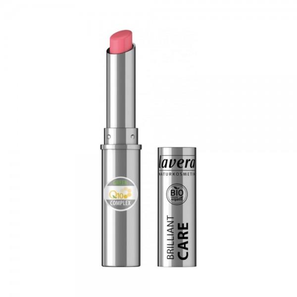 Beautiful Lips Brilliant Care Lipstick Q10 -Strawberry Pink 02-Lavera