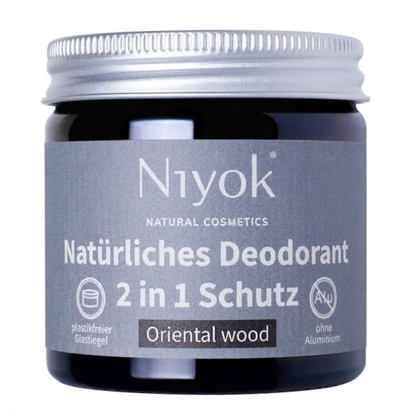 2in1 anti-transpirante Deocreme - Oriental wood