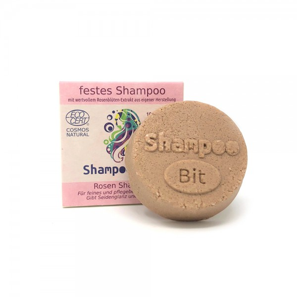 Rosenrot ShampooBit feines Haar - Rose
