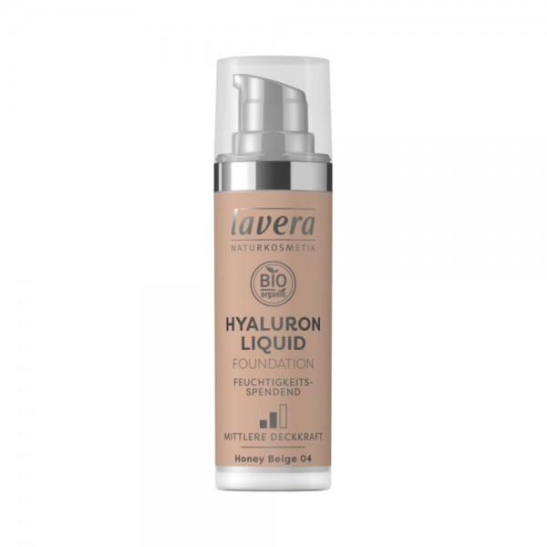 Hyaluron Liquid Foundation -Honey Beige 04-Lavera