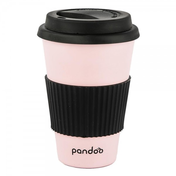 Bambus Kaffeebecher - rose