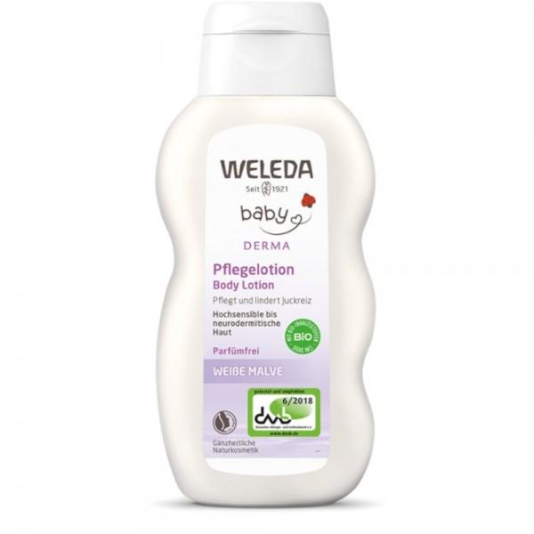 Weiße Malve Pflegelotion Baby Weleda