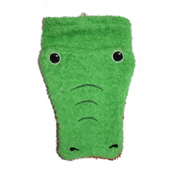 Bio Waschlappen Krokodil