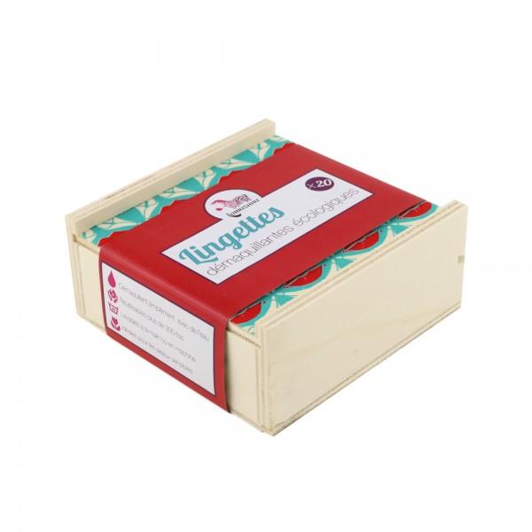 Abschminkpads inkl. Box & Wäschesäckchen