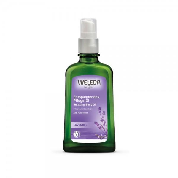 Lavendel Entspannendes Pflege-Öl Weleda