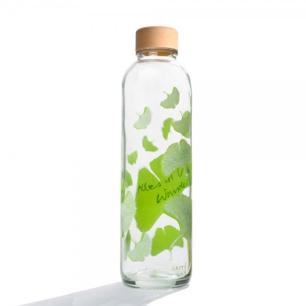 Glastrinkflasche 0,7 l - Free your mind